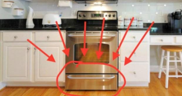Sigur nu știai ce rost are sertarul de sub cuptor – Nu te-ai fi gândit la asta!