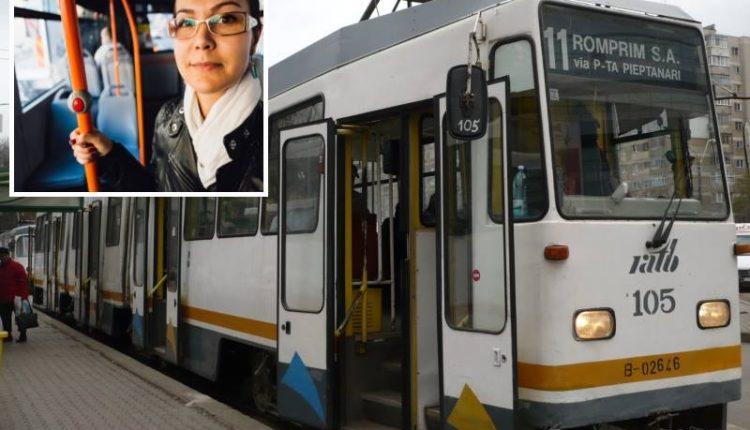 """""""Mă întorceam de la serviciu, la ora 19:00, cu tramvaiul 11 din București. Avusesem o zi lungă. După vreo 2 stații, ridic ochii și văd un bărbat cum se uită țintă către mine…"""" Intamplator, au coborat la aceeasi statie din cartierul Rahova. Ce a urmat"""
